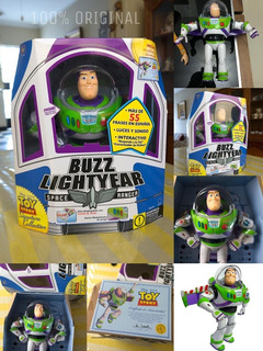 Buzz Lightyear Signature Collection Original Consulta Antes