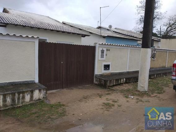 Casa Para Locação Em Araruama, Estrada De São Vicente, 2 Dormitórios, 1 Suíte, 1 Banheiro - 0245