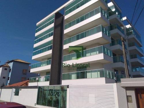 Imagem 1 de 30 de Apartamento Com 3 Dormitórios À Venda, 160 M² Por R$ 680.000,00 - Costazul - Rio Das Ostras/rj - Ap0211