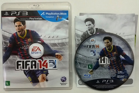 Fifa 14 Playstation 3 Ps3 Frete C Desc*