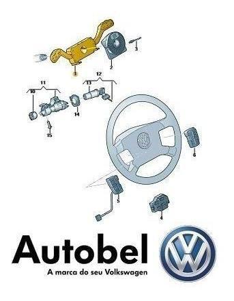 Chave De Seta Amarok Original Volkswagen