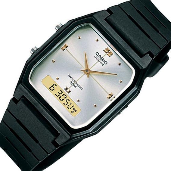 Relógio Casio Clássico Aw-48he-7avdf Retro Unissex