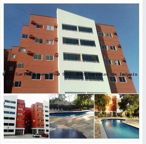 Apartamento 2 Quartos Para Venda Em Teresina, Morros, 2 Dormitórios, 1 Suíte, 2 Banheiros, 1 Vaga - Apto Cata_2-757993