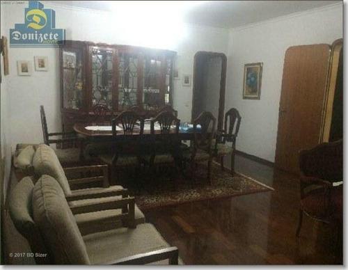 Apartamento Com 3 Dormitórios, 136 M² - Venda Por R$ 690.000,01 Ou Aluguel Por R$ 2.600,00/mês - Jardim - Santo André/sp - Ap3016