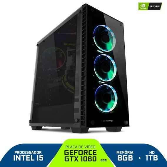 Pc Gamer Smart Pc Smt81138 Intel I5 8gb (gtx 1060 6gb) 1tb