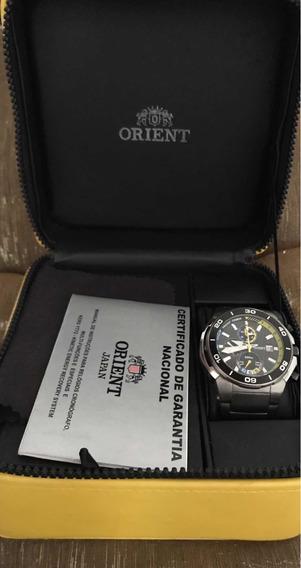 Relógio Orient Yatch Timer Com Case