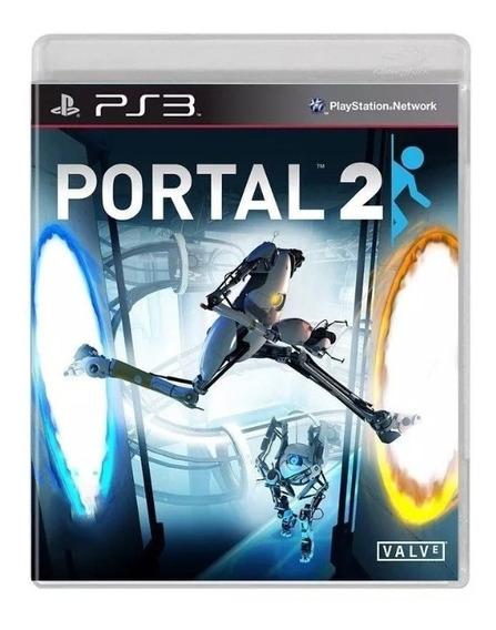 Portal 2 Ps3 Mídia Física Original Pronta Entrega Usado