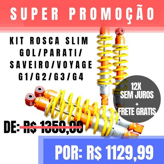 Kit Rosca Slim Extreme Gasnag Gol/parati/saveiro G1 Á G4