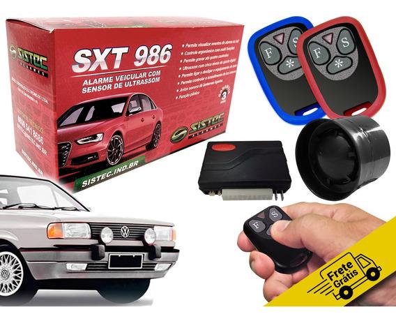 Alarme Sistec Sxt 986 Protetor Vw Gol Quadrado Frete Grátis