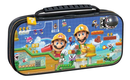 ..:: Estuche Travel Case Mario Maker 2 ::.. Game Center