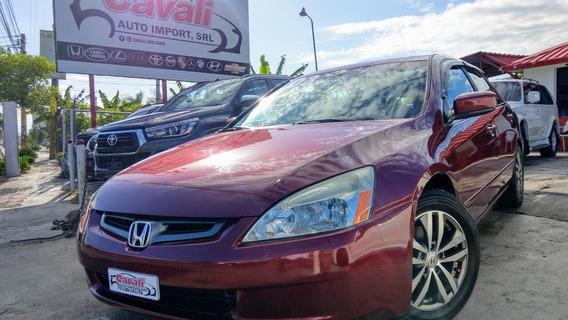Honda Accord V6 Full Rojo 2003