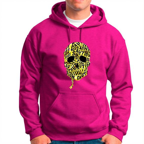 Blusa Moleton Blusa De Frio Caveira Dourada Tiger 99 Origina