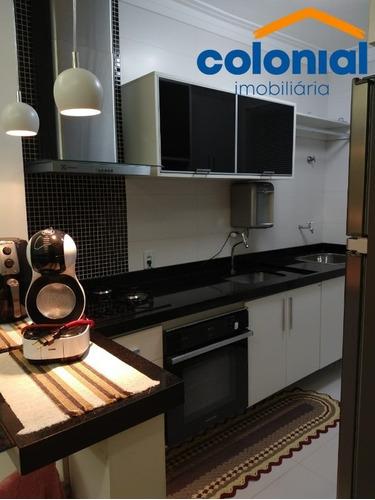 Apartamento Com 02 Quartos No Condomínio Jamile Na Vila Hortolândia Em Jundiaí - Ap01384 - 69473879