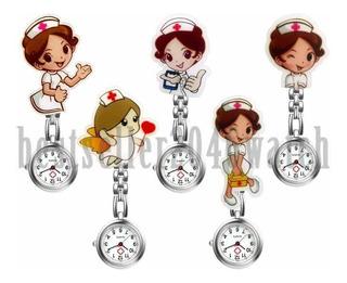 Reloj De Enfermera, Broche Colgante