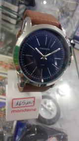 Relógio Mondaine Original Pulseira De Couro