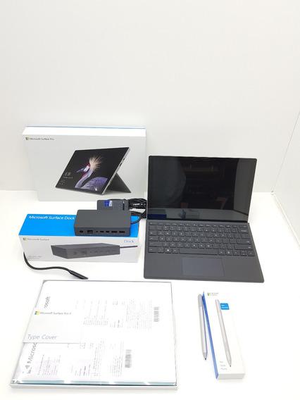 Microsoft Surface Pro 4 8gb 256gb I5 7geraçao Com Acessorios