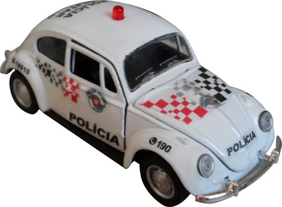 Miniatura Vw Fusca Polícia Militar Pm Sp