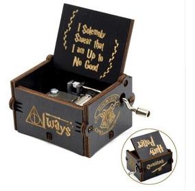 Caixinha De Musica Harry Potter(manivela)modelo Premium