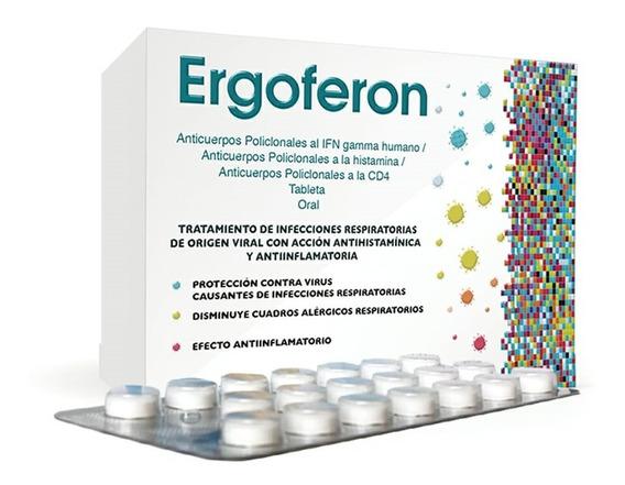 Ergoferon 20 Tabletas Medicamento