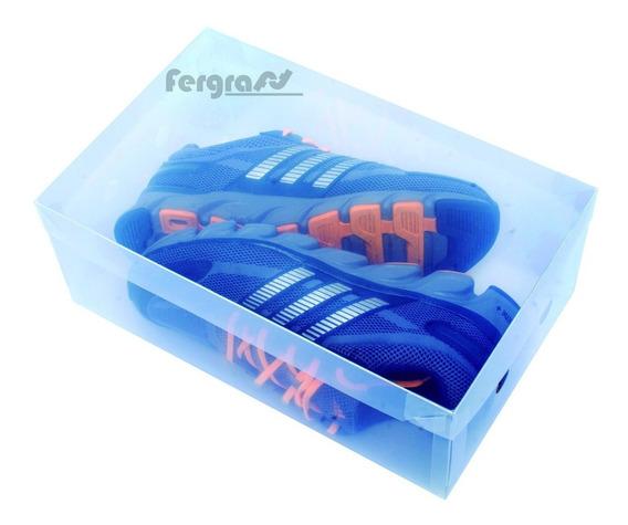 Caixa Transparente P/ Sapato Masculino Kit C/ Und.10 Unid.