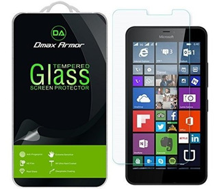 Paquete De 2 Dmax Armor Para Microsoft Lumia 640 Xl Protecto