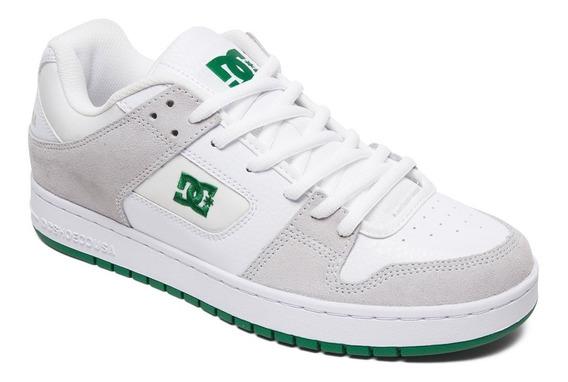 Zapatillas Dc Mod Manteca Blanco Verde Coleccion 2020