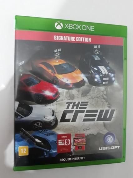 The Crew Signature Edition Xbox One Física Carta Registrada