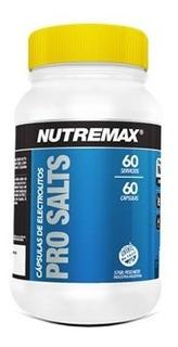 Prosalts 60 Capsulas Nutremax Sales Minerales Recuperacion