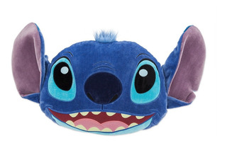 Stitch Risueño Peluche Almohada 60 Cm Disney Store Nuevo