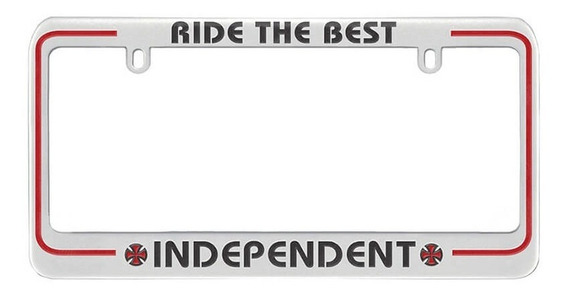 Cubre Placa Independent Ride The Best