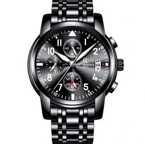 Top De Luxo Da Marca Homens Relógios Cronógrafo Homens
