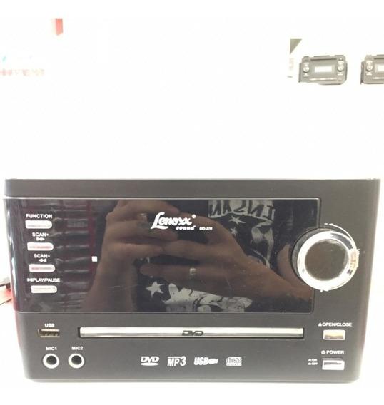 Dvd Micro System Lenoxx Sound Md-270s Ótimo! Semi Novo
