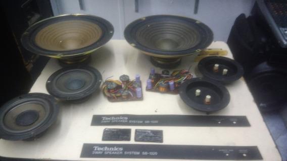 Componentes Da Caixa Technics 3 Ways Speaker System Sb-1320