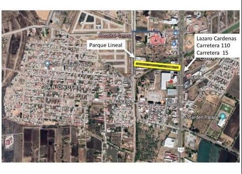 Terreno De 5000 M2 Sobre Bulevard Lazaro Cardenas Y Parque Lineal De Sahuayo Michoacan