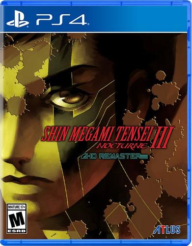 Imagen 1 de 5 de Shin Megami Tensei 3 Nocturne Hd Remaster - Playstation 4