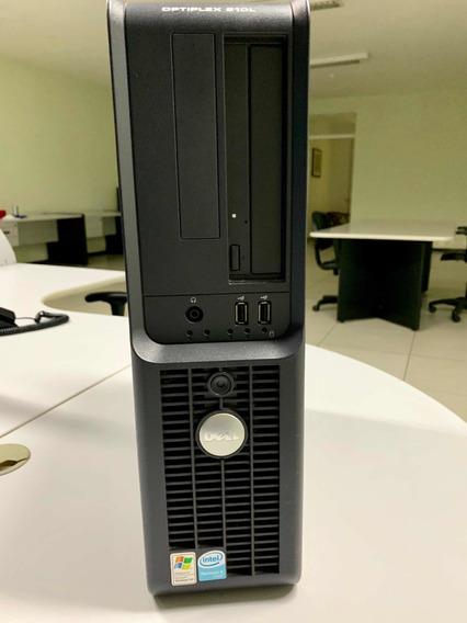 Pc Dell Optiplex 210l Pentium 4 3.0, 2gb Memória, 80gb, Dvd
