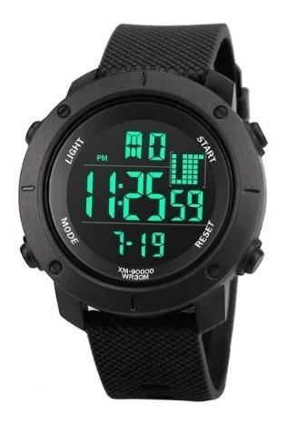 Relógio De Pulso Esportivo Digital Synoke Gf Preto