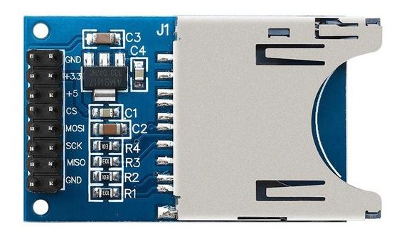 Modulo Shield Sd Card Arduino Leitor Gravador Cartão Pic Arm