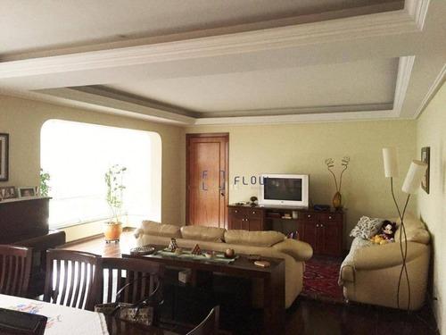 Apartamento Com 3 Dormitórios E 3 Vagas De Garagem - Morumbi - Ap10910