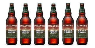 Cerveza Patagonia Amber Lager Pack X 6 X 730ml. - Envíos