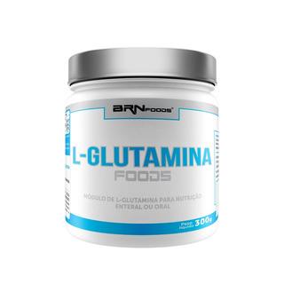 L-glutamina 300g - Brn Foods - 3x Frete Grátis!