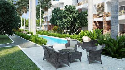 Apartamentos De 2 Habitaciones En Las Terrenas En Plano