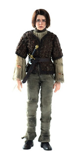 Game Of Thrones Arya Stark 1/6 Threezero Robot Negro