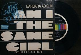 Lp Compacto - Am I The Same Girl - Barbara Acklin