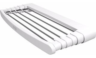 Tendedero Ropa Retractil 1m Pared Tender Plegable Gimi Italy - Hecho En Italia - Caños De Aluminio - Resiste Lluvia Sol