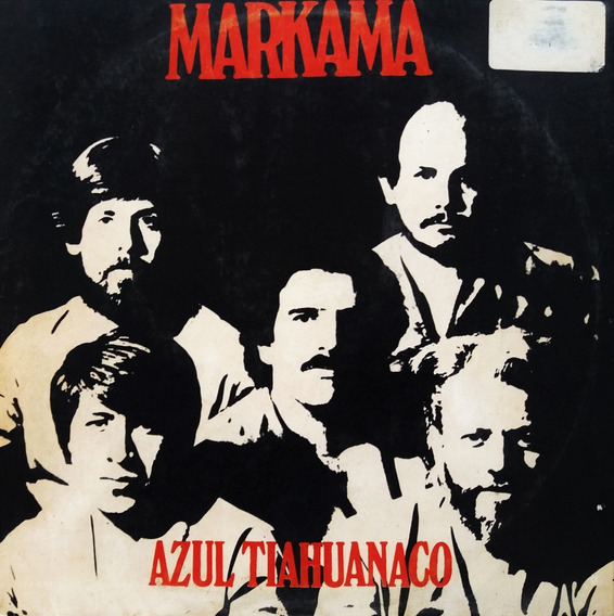 Markama - Azul Tiahuanaco Lp Fol@