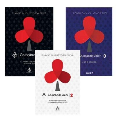 Livro Geração De Valor - Vol 1, 2 E 3 Box