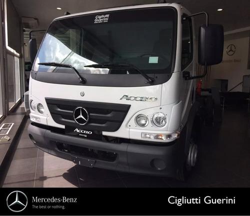 Camion Mercedes Benz Accelo 815 Manual 0km Plan 70/30
