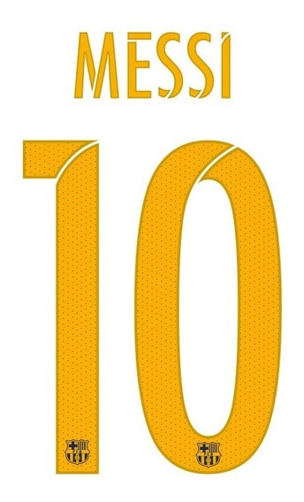 Kit De Vinilo Messi 10 Barcelona Futbol Estampa Sublimado
