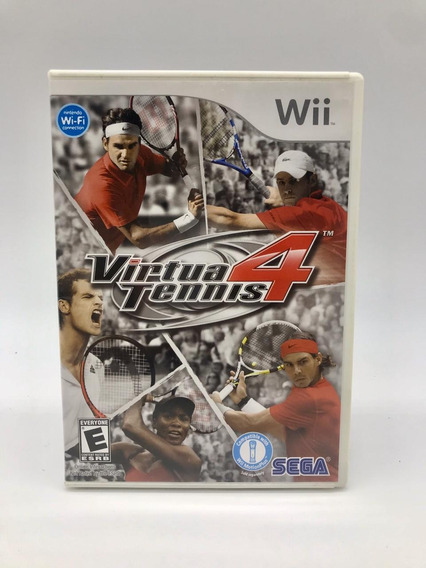 Virtua Tennis 4 Nintendo Wii Original Americano Completo